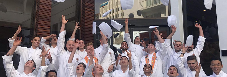 Jeunes Chefs Rôtisseurs Competitie en Dîner Amical bij Culinair Centrum Beverwijk